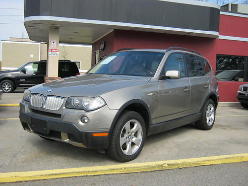 2008 BMW X3 4dr Auto Gold Leather 8000 888-805-7984