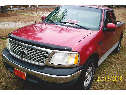 2000 FORD F150 PICK UP Triton v-8 4dr club cab with toolbox new tires trailer hitches extra nice