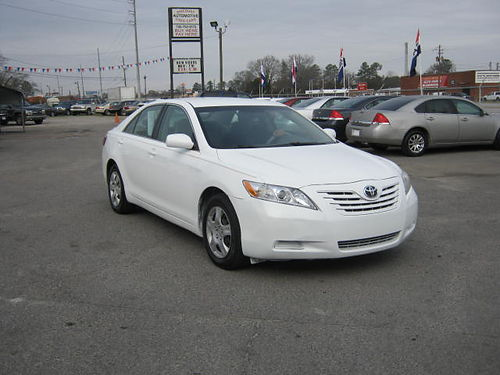 2007 TOYOTA CAMRY LE 4dr White 5spd 6995 888-640-5901