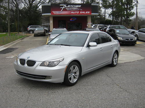 2009 BMW 528 4dr Auto Leather Low Miles 800-805-7984