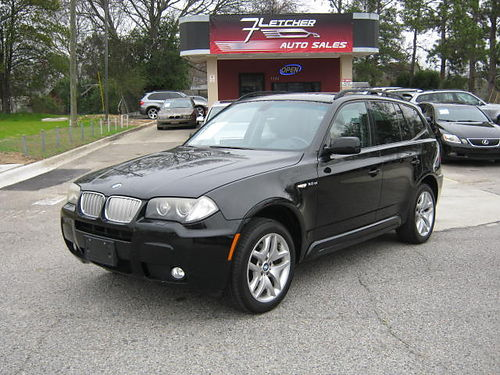 2007 BMW X3 SI 4dr Auto Panoramic Roof Nice SUV 8900 800-805-7984
