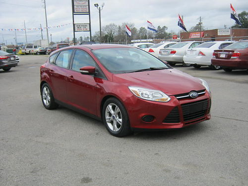 2014 FORD FOCUS 4dr Auto Burgundy 11995 888-640-5901