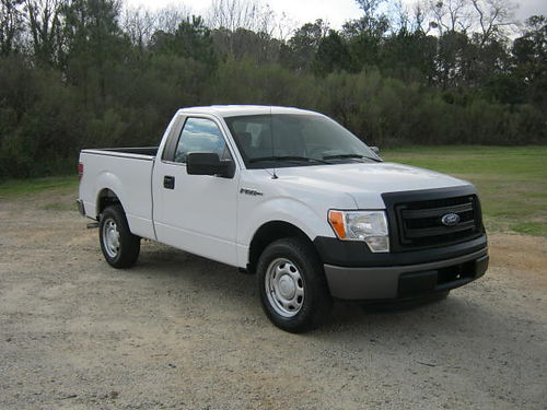 2013 FORD F150 XL Reg Cab Shortbed v6 Auto AC Fleet Pre-Owned Extra Clean Only 13900 888-8