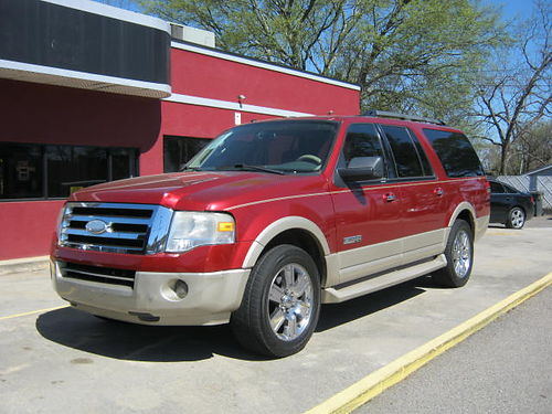 2007 FORD EXPEDITION 4dr Auto Leather Red 9500 800-805-7984