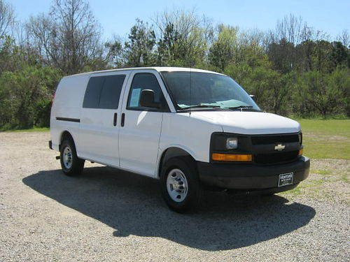 2012 CHEVY 2500 EXPRESS CARGO VAN 60 v8 All Power Interior Shelves Heavy Duty  Built to Work Fo