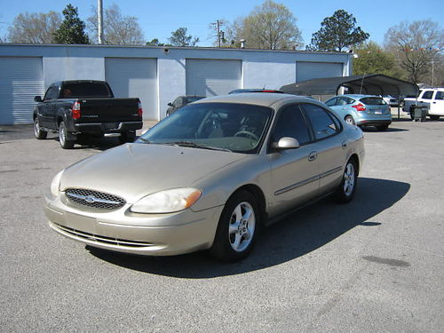 2001 FORD TAURUS 4dr Auto Gold 3500 Cash 888-640-5901