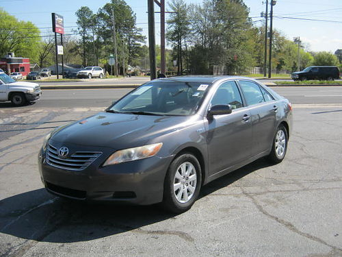 2007 TOYOTA CAMRY Hybrid Silver 4dr Auto 6500 800-805-7984