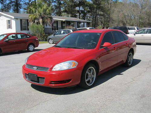 2008 CHEVY IMPALA LT 4dr Auto Red 5990 888-667-8504