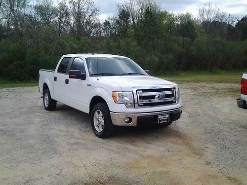 2014 FORD F150 XLT Crew Cab v8 All Power Sync Bluetooth AlloysCloth Carpet Extra Sharp Only