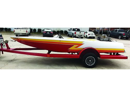 V-DRIVE clean and fast 400hp big block casalle drive rare four seater custom trailer new tires