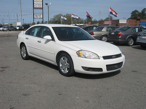 2007 CHEVY IMPALA LT 4dr Auto Leather 10495 888-640-5901