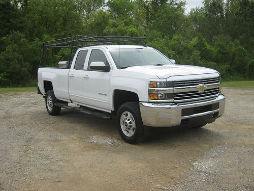 2016 CHEVY 2500 HD LT Crew Cab 60 v8 All Power Bluetooth Sirius Nice Toolbox Ladder Rack Bui