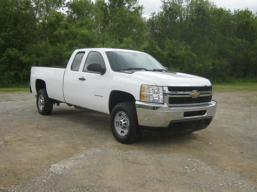 2011 CHEVY 2500 HD SILVERADO 4dr Ext Cab Longbed 78k Miles 60 v8 All Power Tow Pkg Ready to