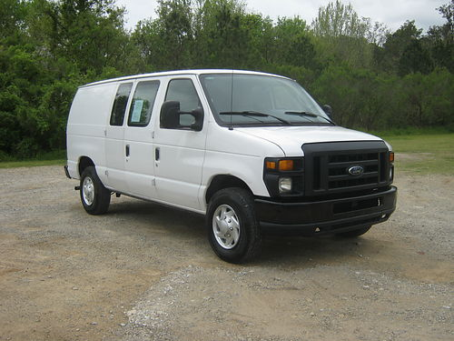 2011 FORD E250 CARGO VAN v 8 67k Miles All Power Bluetooth Sync Nice Interior Shelves Fleet Pr