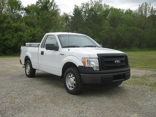 2013 FORD F150 XL Reg Cab Shortbed 37 v6 83k Miles 3 Toolboxes Back-up Camera One Owner Pri