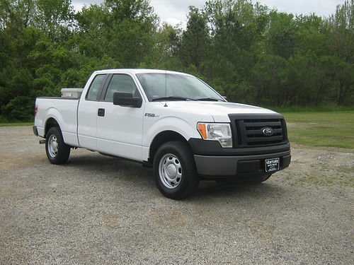 2012 FORD F150 XL 4dr Ext Cab 95k Miles 50 v8 All Power Bluetooth Sirius Rear Lock Diff T