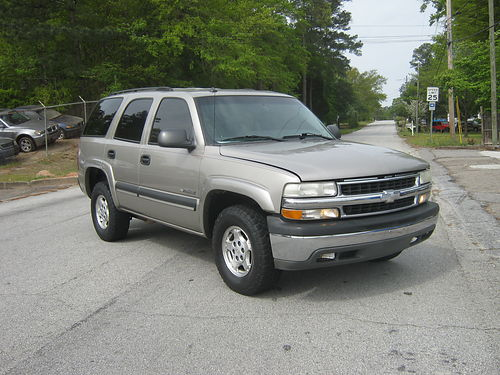2003 CHEVY TAHOE 4dr Auto Gold 7500 800-805-7984