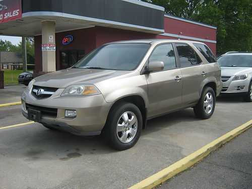 2005 ACURA MDX 4dr Auto Gold Sunroof 7900 800-805-7984