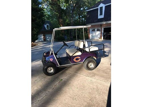 GOLF CART CLUB CAR 4 seater lifted big tires new computer and module needs so