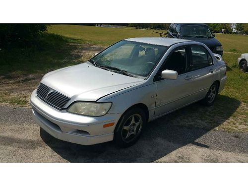 2002 MITSUBISHI LANCER Runs Good 1700 706-306-5460