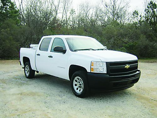2011 CHEVY 1500 SILVERADO 4dr Crew Cab 53 v8 All Power Keyless Entry Fleet Pre-Owned Extra Cl
