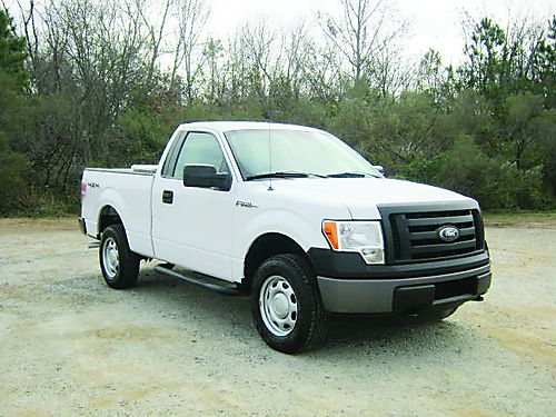 2012 FORD F150 XL 4x4 Reg Cab Shortbed 37 v6 Nice Toolbox One Owner Extra Clean Only 1490