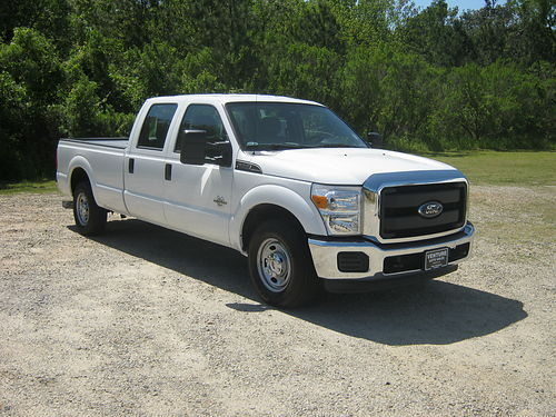2015 FORD F350 XL Crew Cab Longbed SRWH 67 Diesel 97k Miles Gooseneck Hitch Like New without N