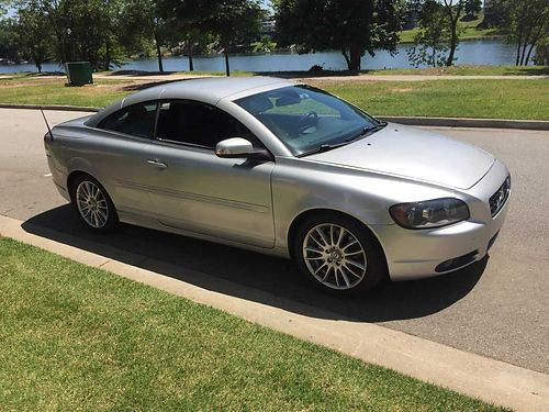 2009 VOLVO C70 Turbo hardtop convertible premium pkg leather seats lady driven non smoker xc 6