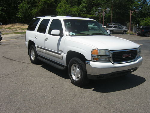 2003 GMC YUKON 4dr Auto White Low Miles 7900 800-805-7984