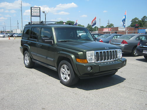 2007 JEEP COMMANDER 4dr Auto 3rd Row 4x4 11495 888-640-5901
