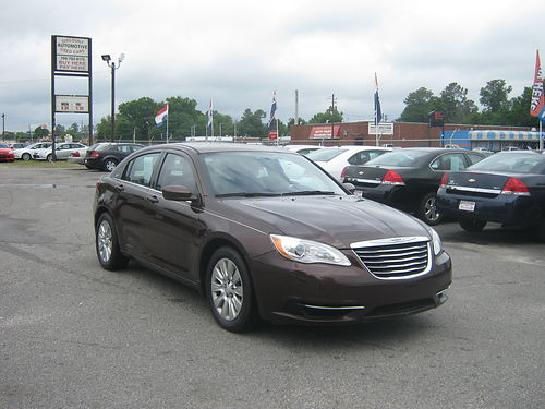 2013 CHRYSLER 200 4dr Auto Copper Brown 11995 888-640-5901