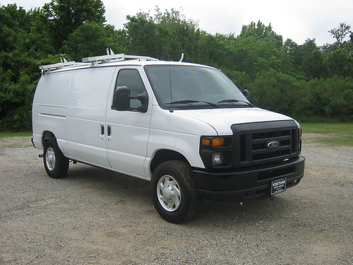 2012 FORD E250 CARGO VAN v8 Bulkhead Interior Shelves Drop Down Ladder 14900 888-808-6705 ventu