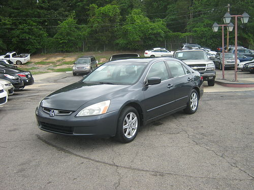 2004 HONDA ACCORD 4dr Auto Grey 7900 800-805-7984
