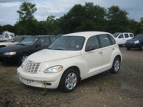2005 CHRYSLER PT CRUISER 4dr Auto White CALL 855-830-1721