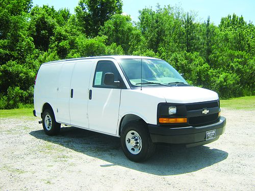 2014 CHEVY 2500 EXPRESS CARGO VAN v8 58k Miles All Power Nice Interior Shelves Back- up Camera