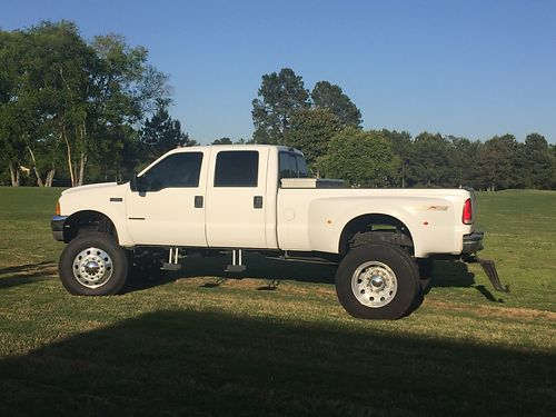 1999 FORD F350 dually loaded new tires custom lift kit 29999 neg new engine  tires still un
