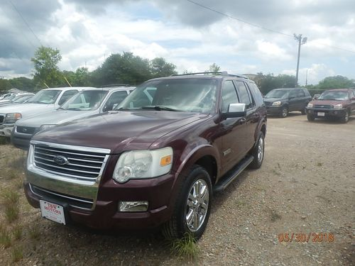 2006 FORD EXPLORER Limited 4dr Auto Maroon 4495 855-830-1721