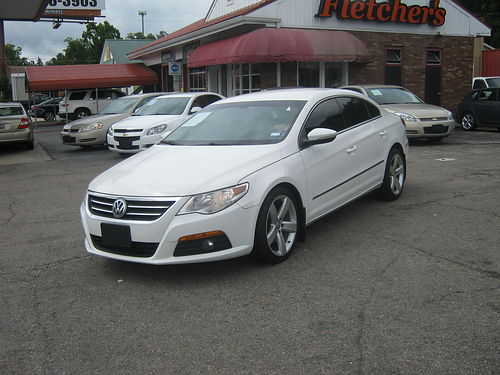 2010 VW CC 20T 4dr Auto White Low Miles Leather Sports Pkg 8900 800-805-7984