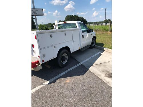 2001 FORD F250 rolling work shop has service body full of tools price reduced serious calls only
