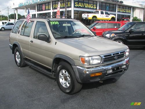 1998 NISSAN PATHFINDER 4dr Auto Gold Call 855-830-1721