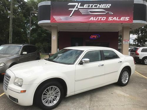 2010 CHRYSLER 300 4dr Auto White Leather Touring 6900 800-805-7984
