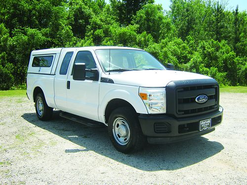 2011 FORD F250 XL 4dr Ext Cab 62 v8 108k Miles Workmaster Top Bedslide Power Inverter Great