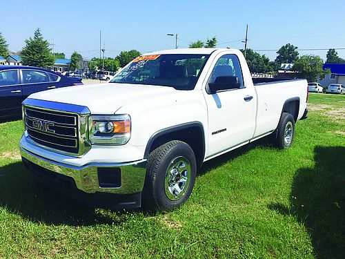 2015 GMC SIERRA 1500 Reg Cab White Only 23k Miles Factory Warranty 16995 706-828-4444