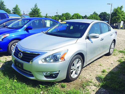 2015 NISSAN ALTIMA Only 6200 Miles PW PL Silver Factory Warranty 15995 706-828-4444