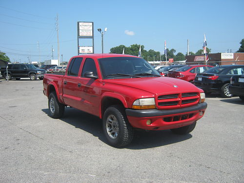 2001 DODGE DAKOTA SPORT 4dr Auto Pick-up Red Auto 8995 888-640-5901