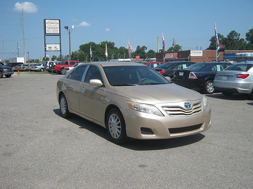 2011 TOYOTA CAMRY LE 4dr Auto Gold 11995 888-640-5901