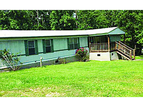 LINCOLNTON WATER FRONT 34acre lot 16x80 3br 2ba mh 25x25 deck rv carport 2large buildings cover