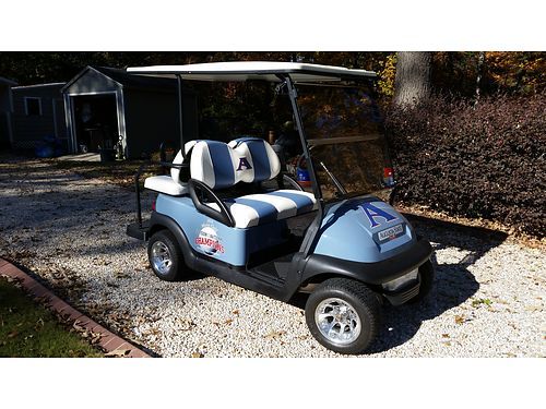 CART Club Car Presidential electric new battery charger extra set of tires marine speakers flo