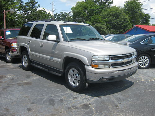 2005 CHEVY TAHOE 1500 4dr Auto Gold 6200 800-805-7984
