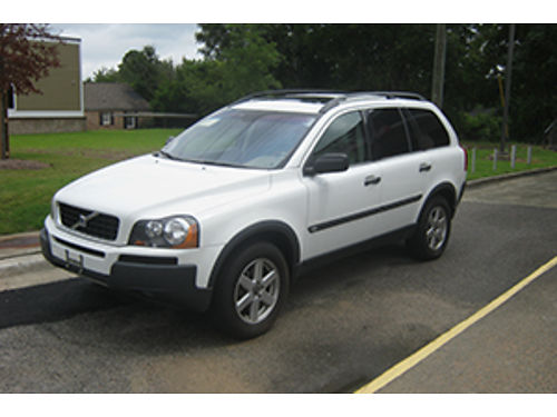 2006 VOLVO XC90 4Dr Auto White Leather Sunroof 7500 1-800-805-7984